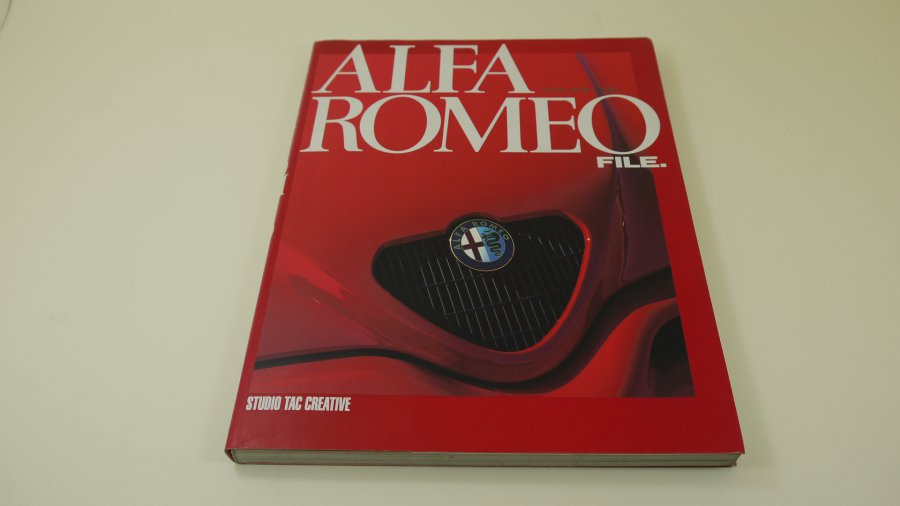 Mobili Design Modena.Alfa Romeo File Japanese Book Published By
