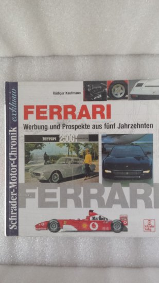 Ferrari German book on the history ...