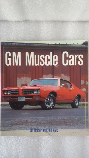 GM Muscle Cars English book of ...