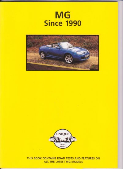 MG Since 1990 This book contains ...