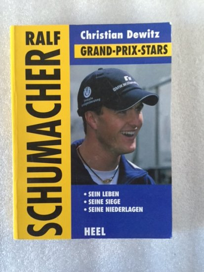 Ralf Schumacher German book, ...