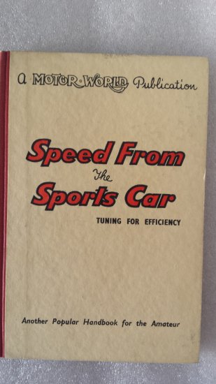 Speed form the Sports car Libro in ...