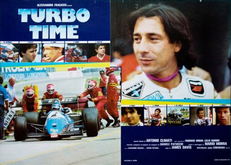 Turbo Time Locandina del film, ...