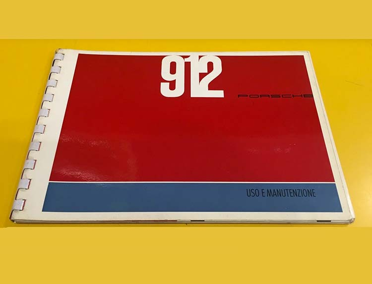 Porsche 912 Owners Manual 1965 ...