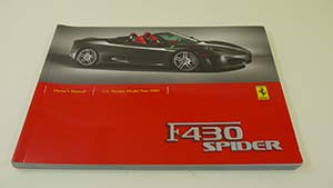 Ferrari F430 Spider U.S. Version ...